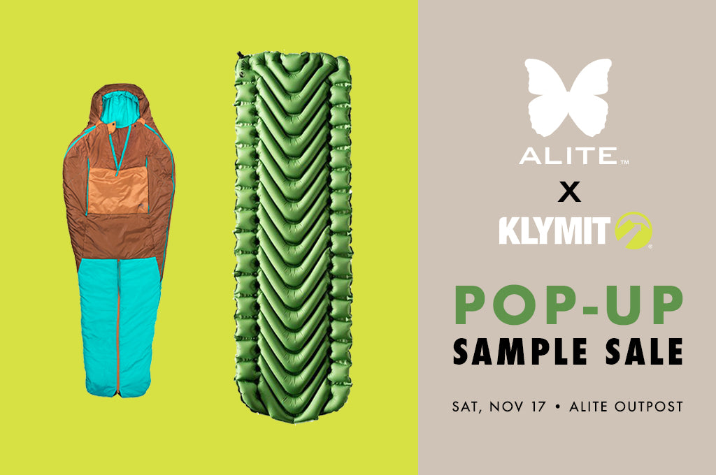 Klymit x Alite Pop-up Sample Sale