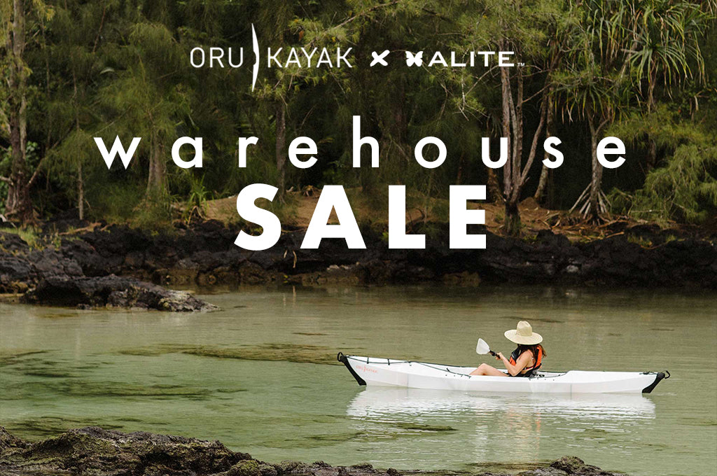 Discounted Origami Kayaks + Alite Gear