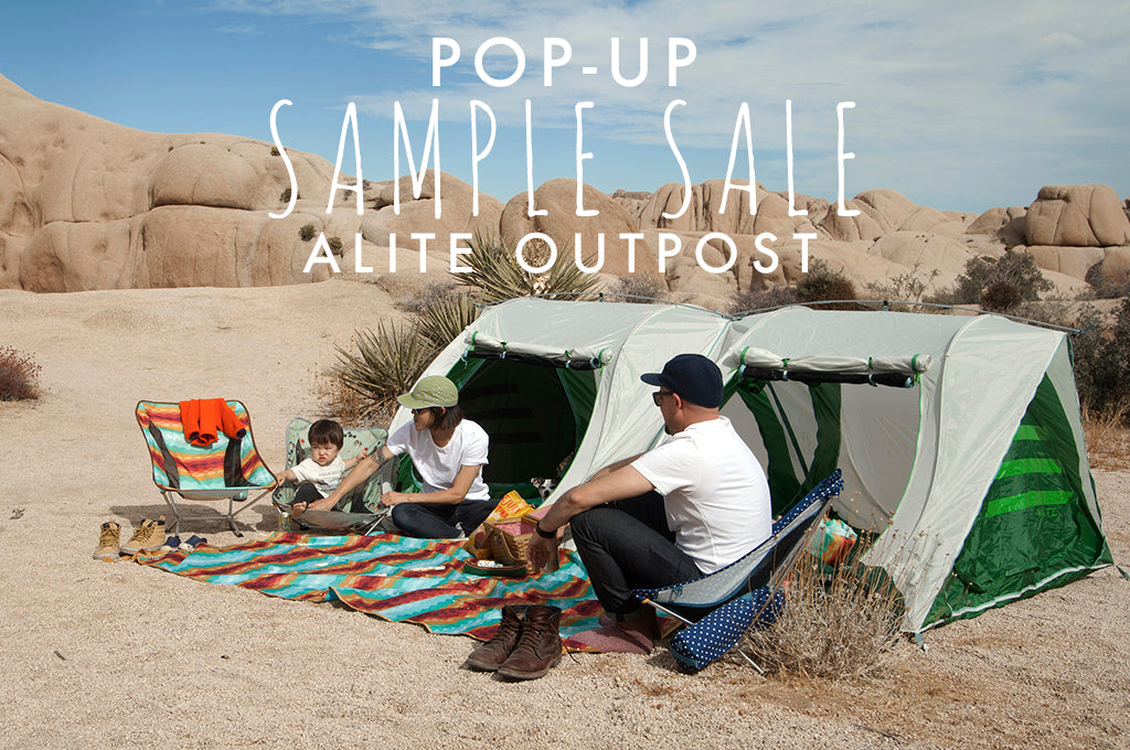 Pop-up Sample Sale at the Outpost!