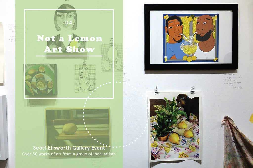 July 2016 Gallery Show: Not a Lemon Art Show