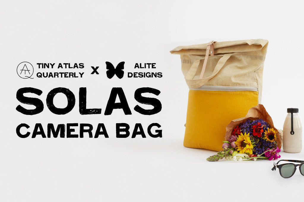 Product Launch: Tiny Atlas Quarterly SOLAS Camera Bag