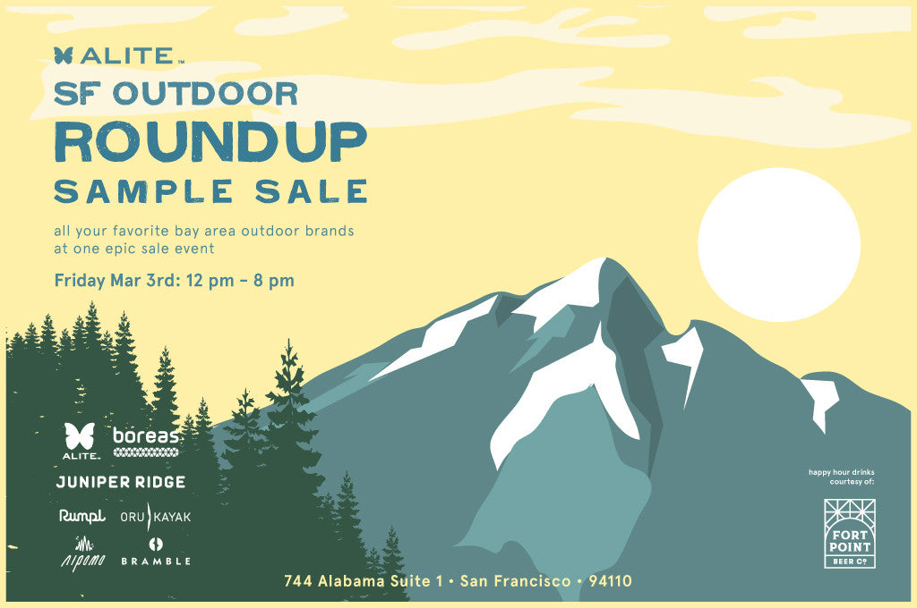 SF Outdoor Roundup Sample Sale