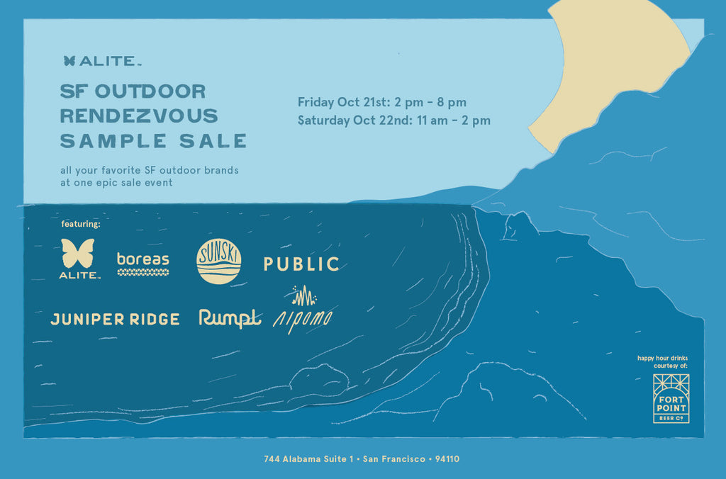 SF Outdoor Rendezvous Sample Sale