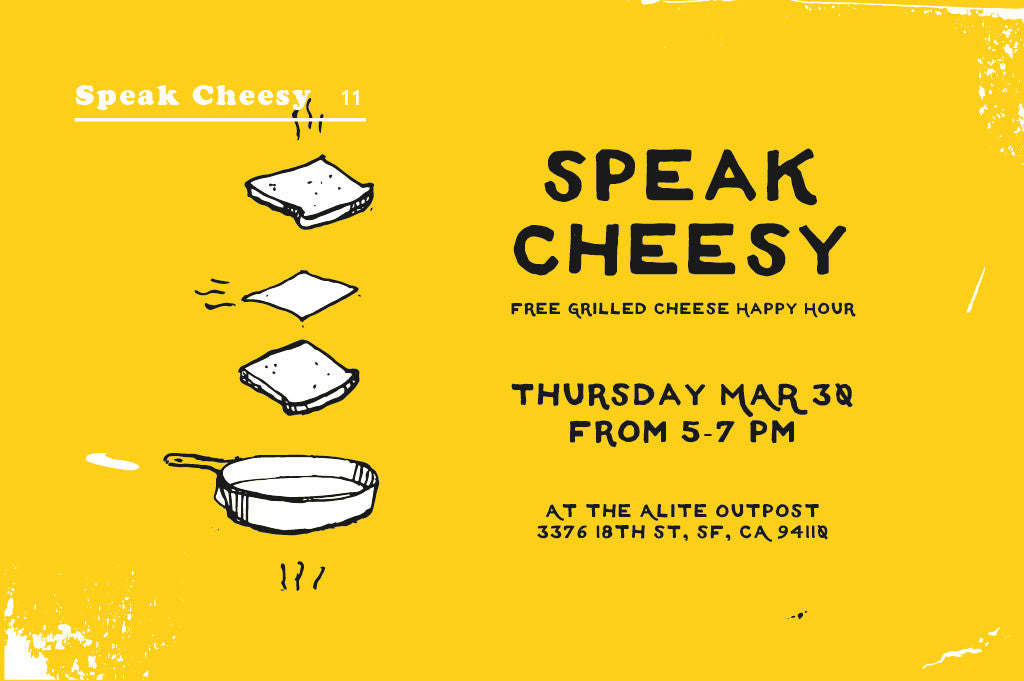Speak Cheesy Happy Hour