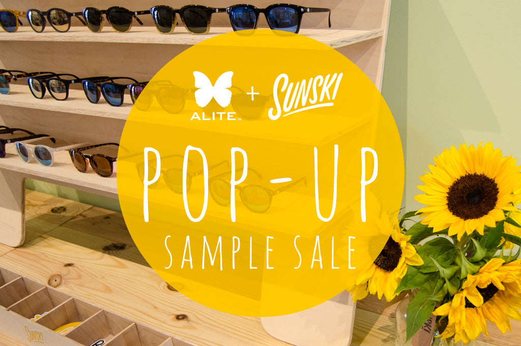 Sunski + Alite Pop-Up Sample Sale!