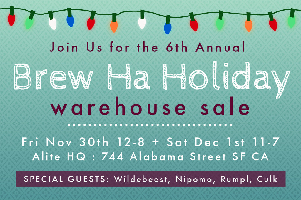 Brew Ha Holiday Warehouse Sale 2018