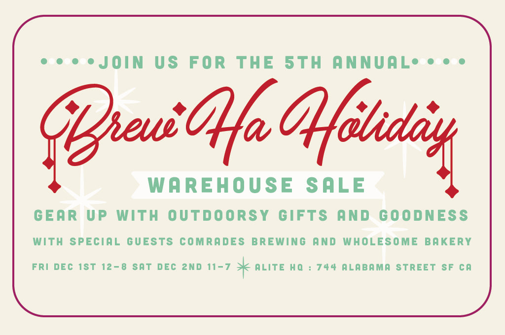 5th Annual Brew Ha-Holiday Warehouse Sale