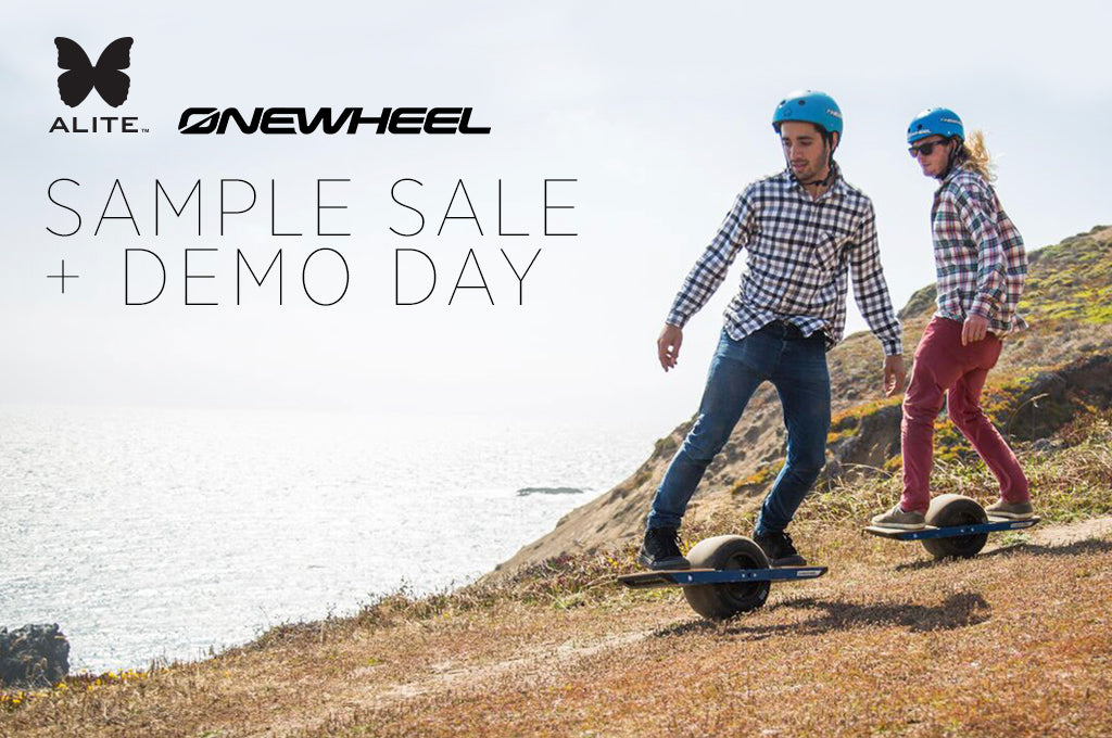 One Wheel x Alite Sample Sale + Demo