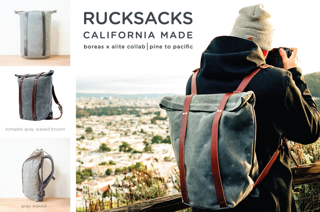 Made in Cali Rucksacks, Camp Tacos + More!