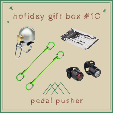 Holiday Gift Box #10: Pedal Pusher