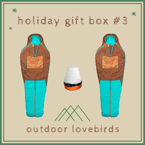 Holiday Gift Box #3: Outdoor Lovebirds