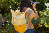 Tiny Atlas Quarterly SOLAS Camera Bag (Yellow and Canvas)