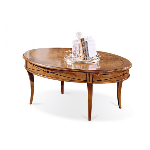 T21.01 Oval center table