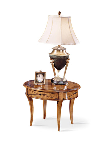 T21 Round lamp table