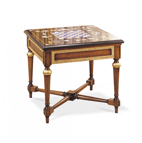 T1.02 Square chess game side table
