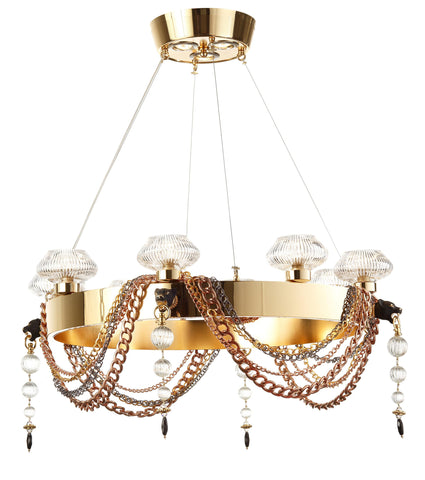 Chandeliers | Contemporary  1910/CH8/LU