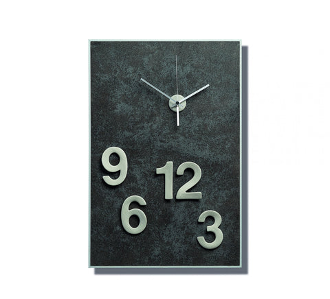Clock Stylistic Figures rectangular
