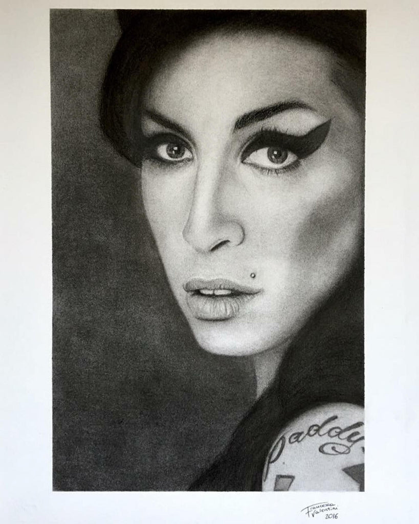 Amy Winehouse's portrait