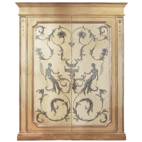 Art.398 - Armadio coriandolo decorato