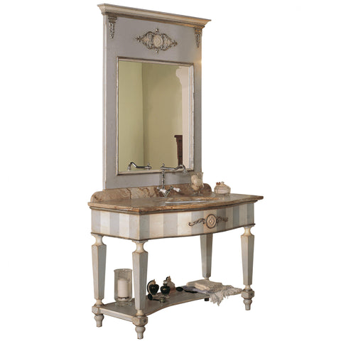 Art.554 - Ninfea bathroom with mirror – medium size
