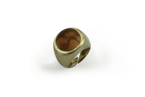 Seal ring Olive wood round