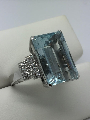 Acquamarine Ring