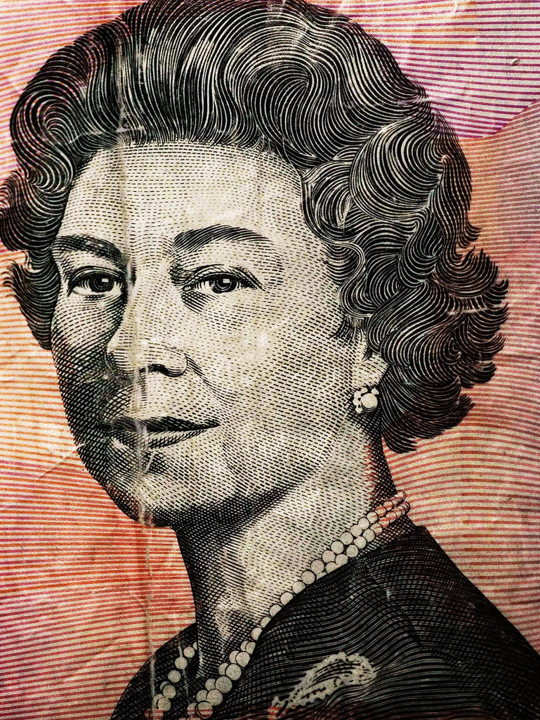 "Queen Elizabeth II, Australia | Faces of Money | 39,3 x 55,1"" (1"