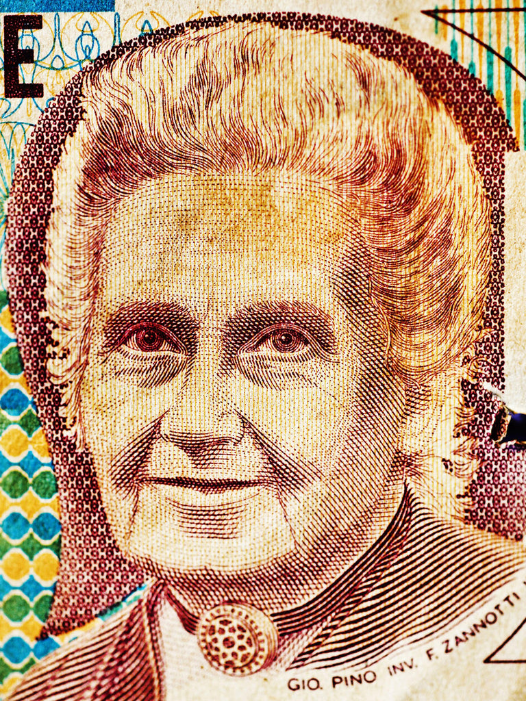 "Maria Montessori, Italy | Faces of Money | 19,7 x 27,5"" (50x70 c"