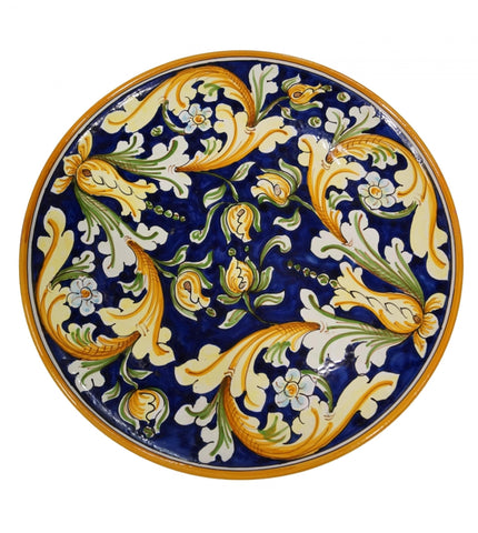 Dishes ornate blu diameter 45 cm (without central rosette)