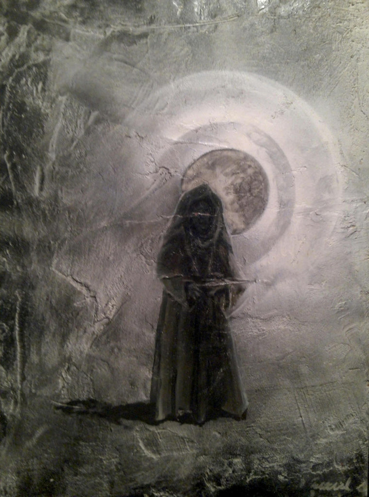Painting / entitled original artistic creation: Jawas alien