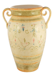 Affresco Handle Jar