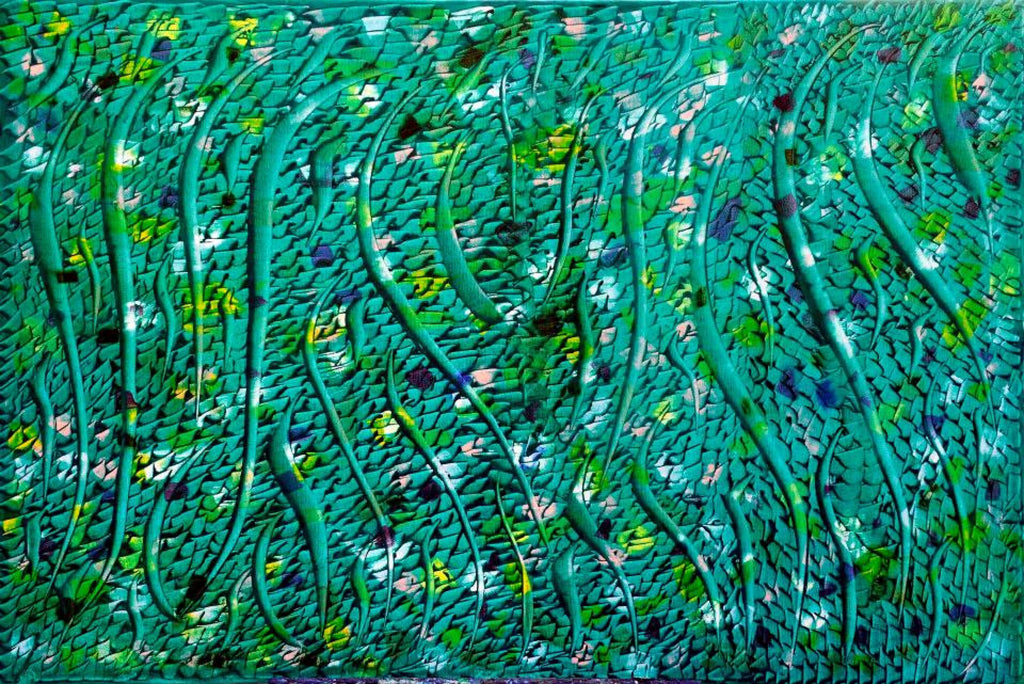 "Abstract painting ""Immortal nature #5"""