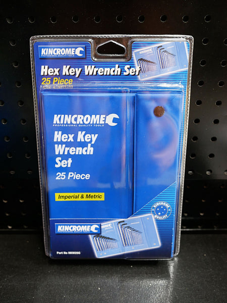 Kincrome HKW25C Hex Key Set Toolies Tool Specialists Sandgate Newcastle