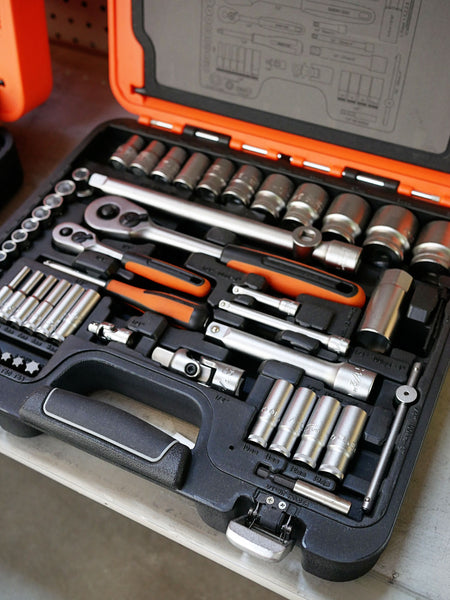 Toolies Tool Specialists Sandgate Newcastle Bahco S910 Spanner Socket Set