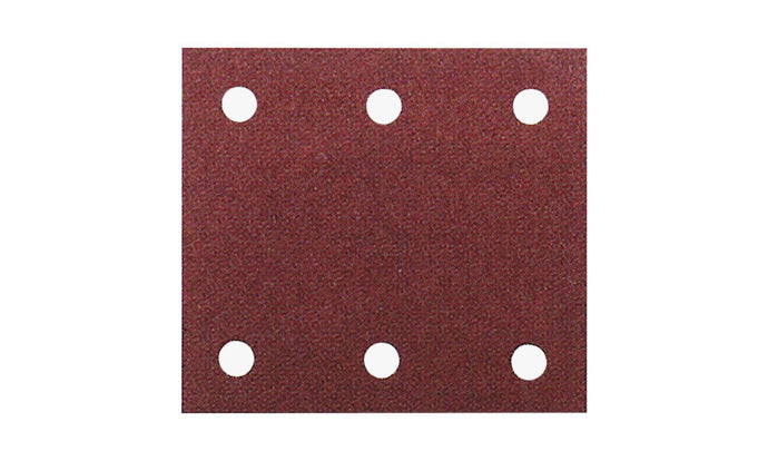 Makita P-33124 114 x 102mm 1/4 Sheet Sanding Pads 120 GRIT 10 Pack