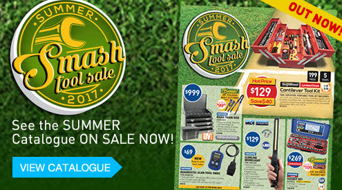 Kincrome's Summer Smash Tool Sale on now at Toolies Tool Specialists