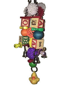 Bells, Blocks, and Duck Bird Toys