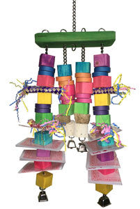 Deck of Cards Bird Toy
