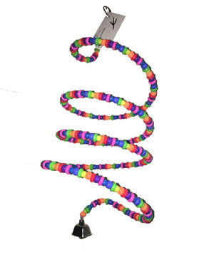 Rainbow Boing Bird Toy