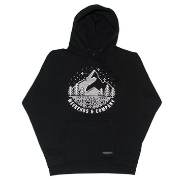 Constellations Hoodie - Black