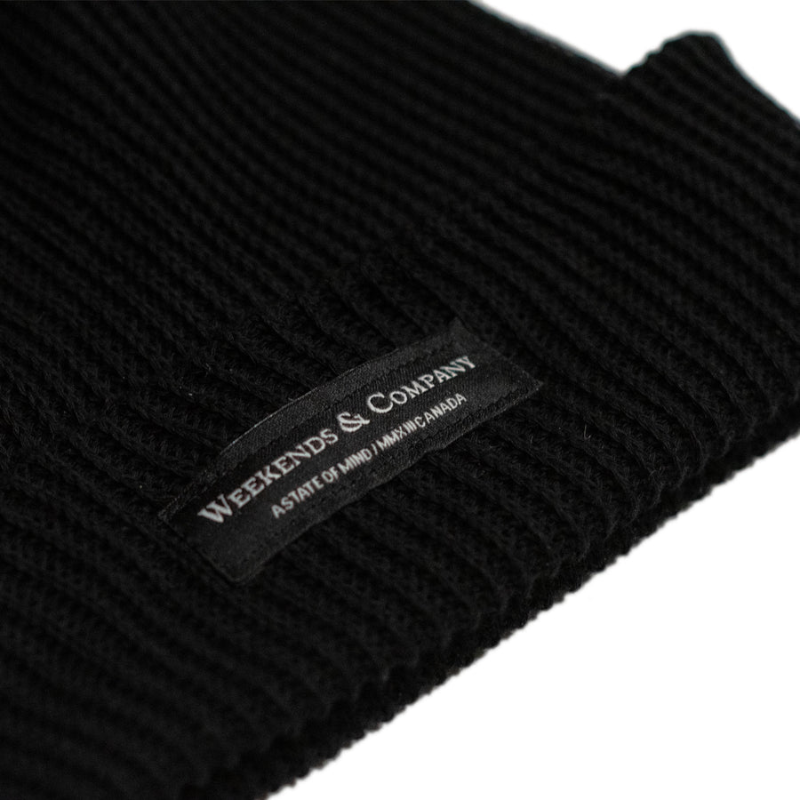Weekends Beanie - Blackout