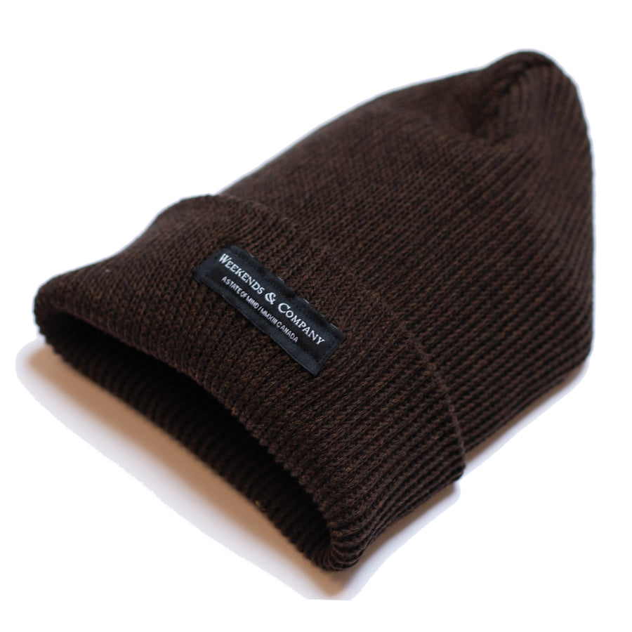 Weekends Beanie - Hickory