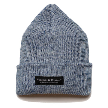 Weekends Beanie - Denim