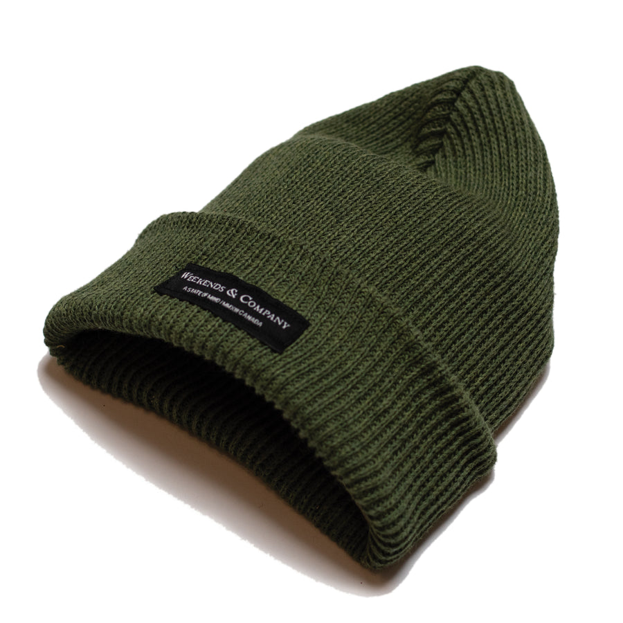 Weekends Beanie - Forest