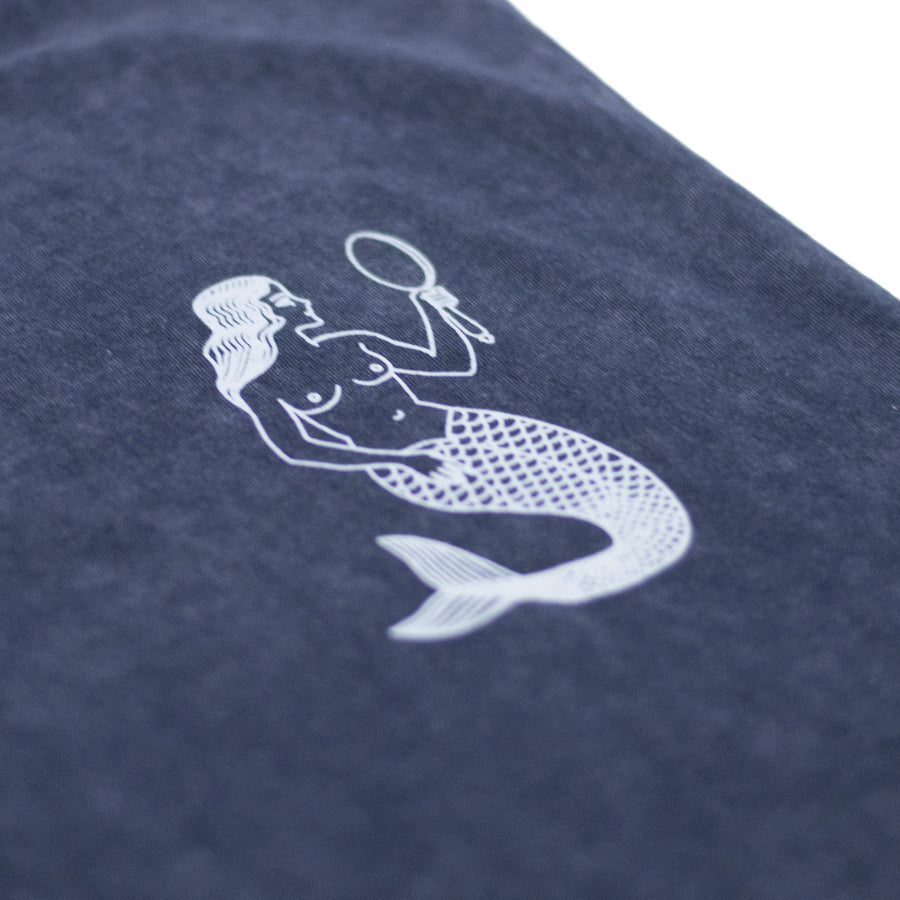 Little Mermaid Tank - Navy Stone Wash