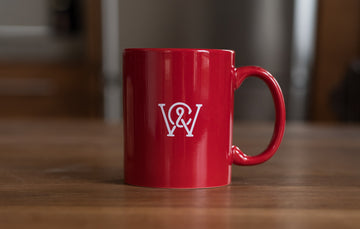 Weekends Monogram Coffee Mug