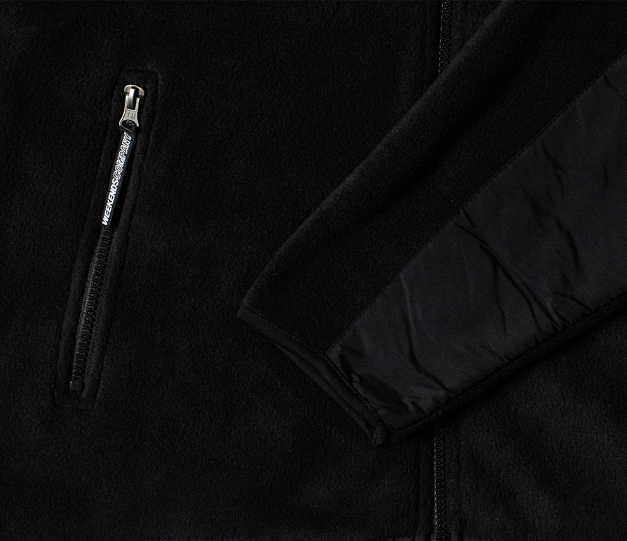 Everest Fleece - Pure Black