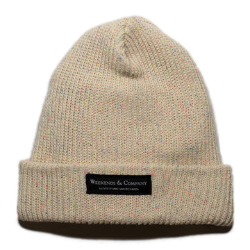 Weekends Beanie - Natural Neon