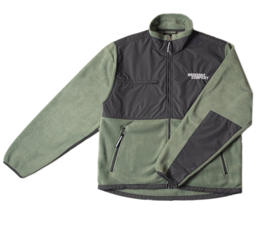 Everest Fleece - Pistachio Green
