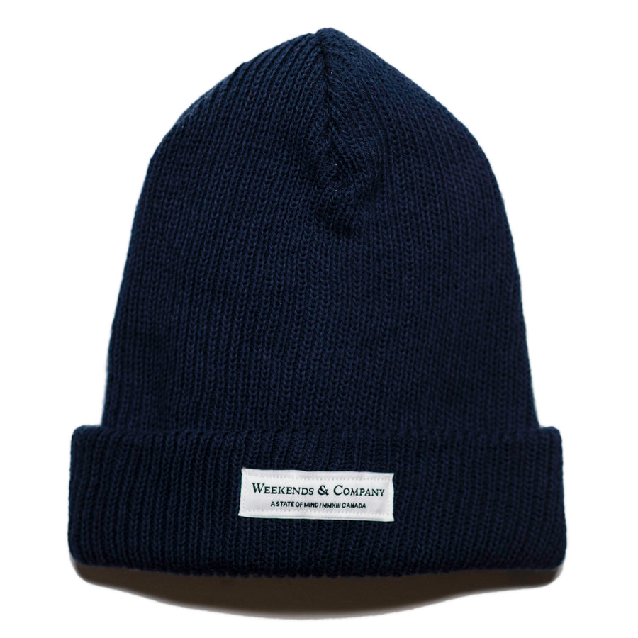 Weekends Beanie - Navy